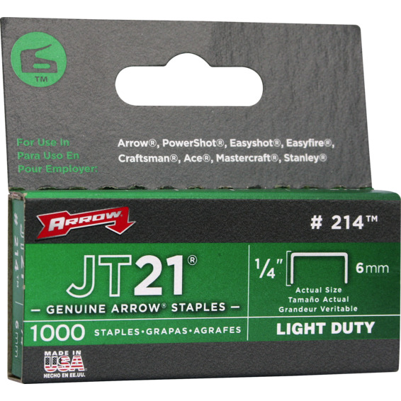 Bilde av Arrow Stifter 6mm Jt21 1/4""