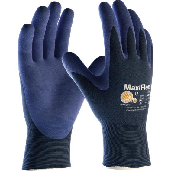 Montasjehanske MaxiFlex Elite Str.8