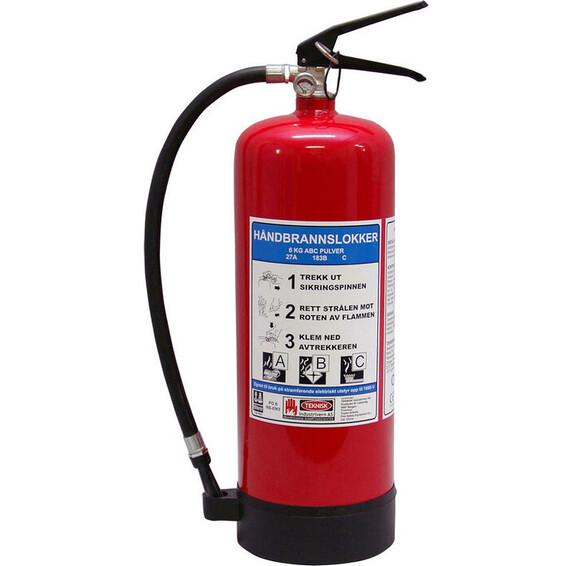 Brannslukker Pulver 6 kg