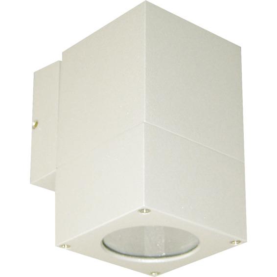 Utelampe Veggspot Atrix Enkel Sølvgrå 3W LED GU10 IP44