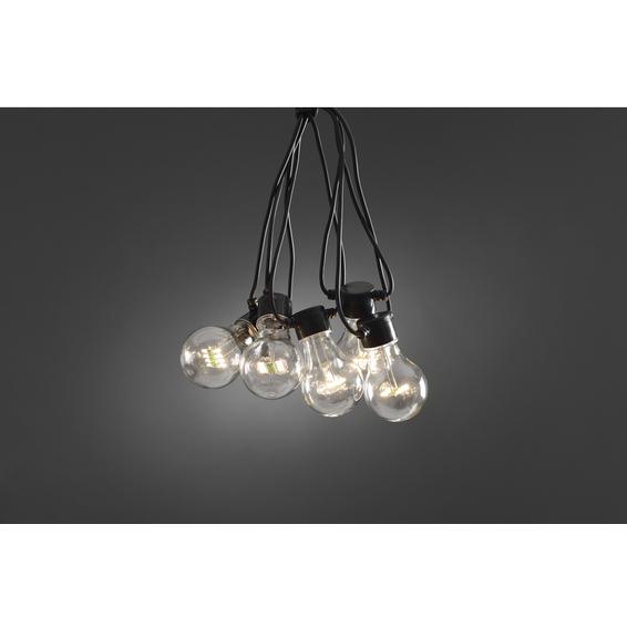 Partylys Lysslynge 10 varmh. LED lys 24V/IP44 Tillegg.