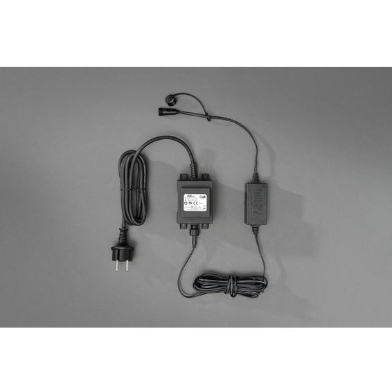 Julesystem Start-sett LED Soft cable 24V Trafo IP44