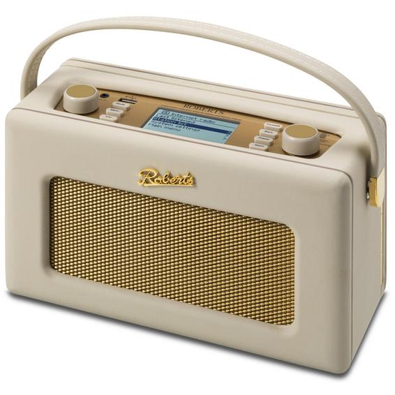 Roberts Radio Roberts Revival iStream2 Retro DAB+ digital radio Cream 89363 Lyd og bilde