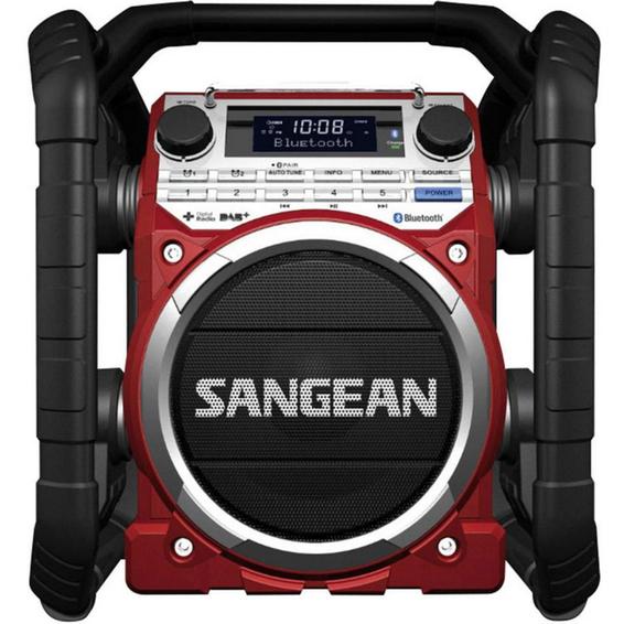 Sangean U-4 DBT DAB+ og FM-RDS Blåtann Arbeidsradio 89365 Lyd og bilde
