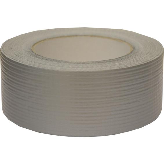Lerretstape 48mm x 50m Sølv