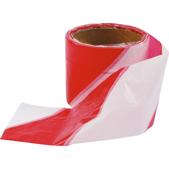 Avsperringsbånd Rød/Hvit 50 Meter