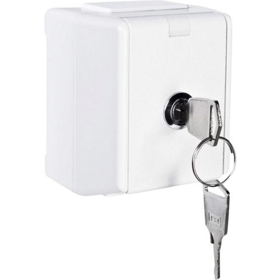 Nøkkel til 1530615 Enkel stikk IP44 Påvegg Elko