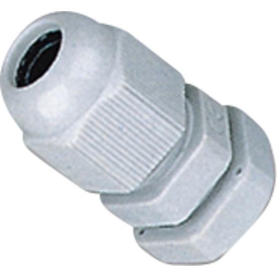 Nippel PG9 med mutter IP68 5-Stk