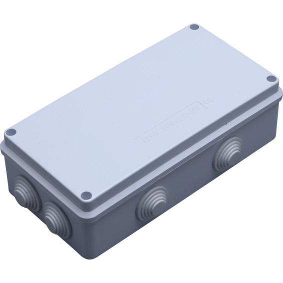 Koblingsboks IP55 200x100x70mm tom