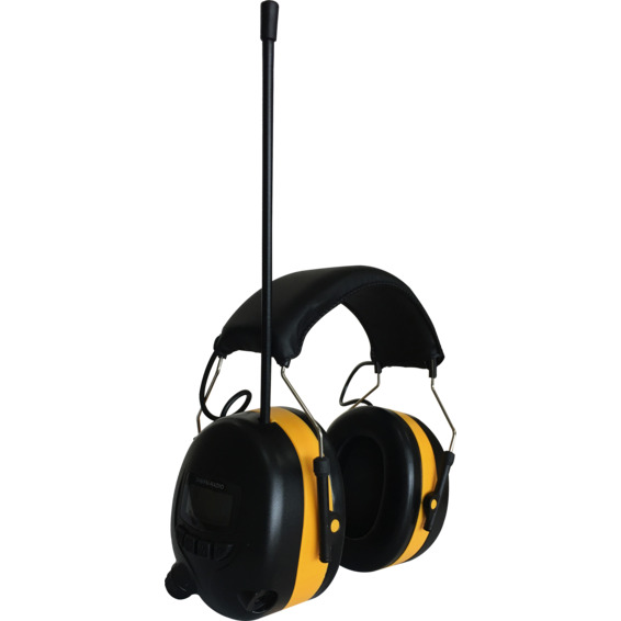 Hørselvern med DAB+ T-TEC