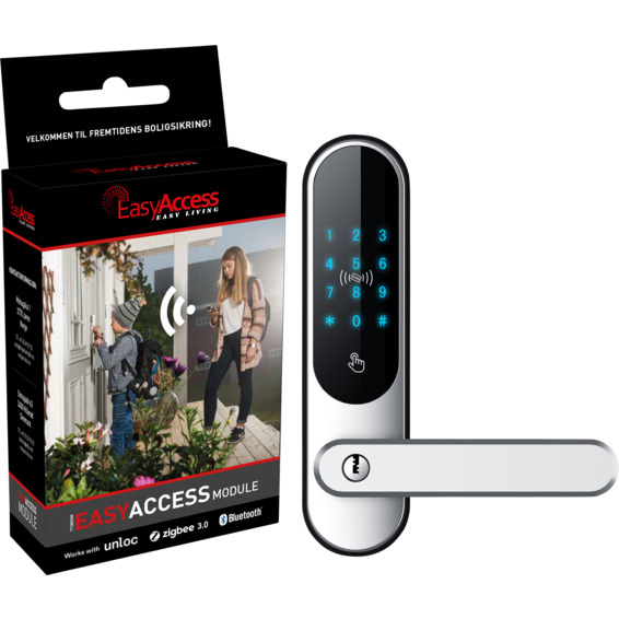 EasyAccess EasyCode Touch Black og Zigbee/BLT Modul