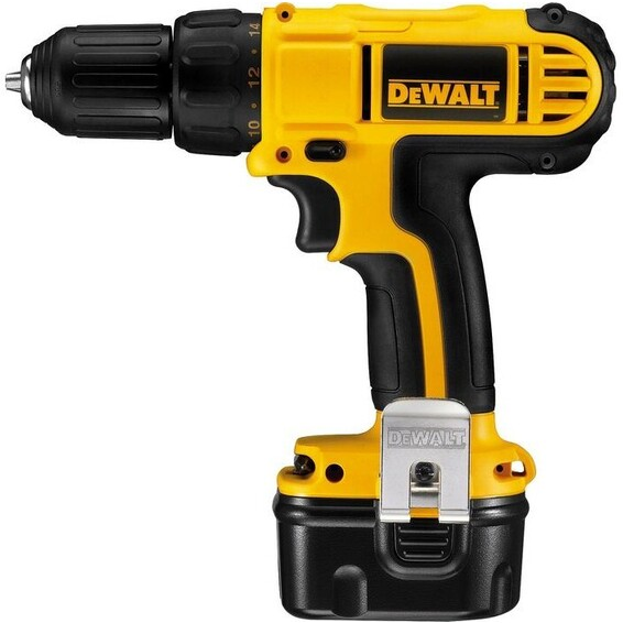 Drill Dewalt DC740KA 12V Ni-Cd 1,3Ah 10mm m/2batterier