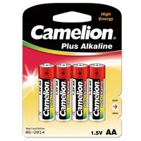 Batteri alkalisk LR06/AA  4 Pk Camelion