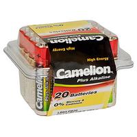 Batteri alkalisk LR03/AAA 20 Pk Camelion