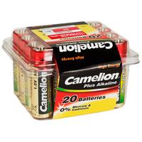 Batteri alkalisk LR06/AA 20 Pk Camelion