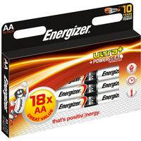 Batteri Ultra+ AA LR6 18pk Energizer