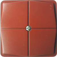 Koblingsboks IP65 rød tom AquaBest