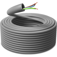 Ferdigtrukket K-rør 16/PN 3G1,5 50m PM Flex