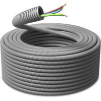 Ferdigtrukket K-rør 16/PN 3G2,5 50m PM Flex