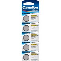 Batteri CR2016 Lithium 3V 5pk Camelion