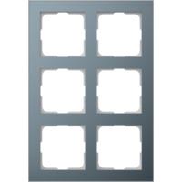 Elko Plus Layer ramme AL/Tinn MR 2x3H