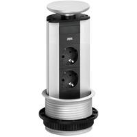 EVOline Port - 2x stikk 1x 1000mA USB- lader