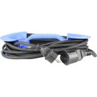 Skjøtekabel 1-veis Utebruk 3G1,5 10M med kabelholder IP44
