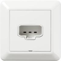 RS16 DCL vegguttak+plugg PH Elko
