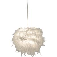Boa taklampe 25cm hvit fj�r