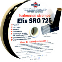 Kortslutningssikker str�mpe  10mm Sort