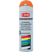 CRC Marker Paint orange Fluorescerende aerosol 500ml