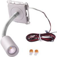 LED leselampe 4W for ramme ALU