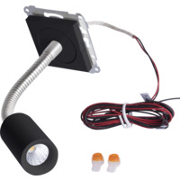 LED leselampe 4W for ramme SO