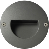 Unilamp Dot LED Round Ramp 6052 1,4w 3000K 350mA DC S�lv