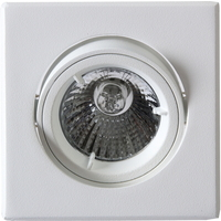 Tilo Outdoor Downlight 240V/50W GU10 Hvit IP23