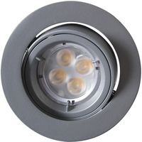Juno Outdoor LED Downlight 7W 240V GU10 S�lv IP23