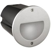 Pan LED 3W Varmhvit 700mA m/driver Sølv IP 65