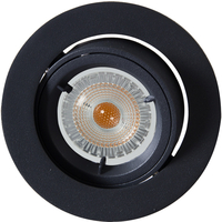 Artos LED Outdoor Downlight 240V 6,5W GU10 Sort IP23