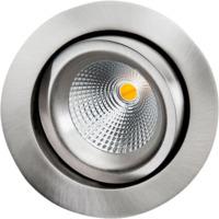 Gyro DimtoWarm 6W Børstet stål LED 2000-2800K