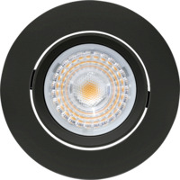 Alfa Downlight 10W matt sort