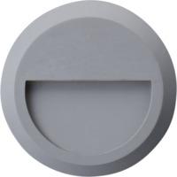 Vegglys Scoop Sølv 1,5W LED IP65