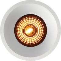 Alfa Soft Trimless Downlight Warmdim 10W matt hvit