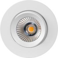 Alfa reflektor 360-tilt Downlight 8W matt hvit