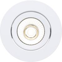 Alfa reflektor 360-tilt Downlight 8W matt hvit 4000K