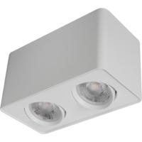 Alfa Box 2 LED matt hvit