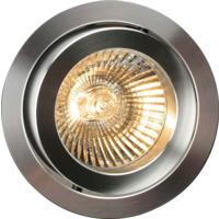 Downlight D-10421W 12V 35W GU5,3 Hvit+Alu IP21 Firkantet