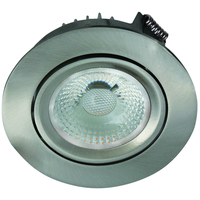 Artic COB Star Downlight 8W B�rstet St�l IP44