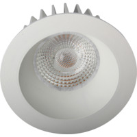 Artic COB Soft Downlight 8W Matt Hvit IP44