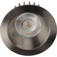 Artic COB Soft Downlight 8W Børstet Stål IP44