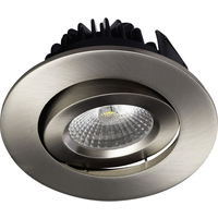 Juno COB LED Downlight 8W B�rstet St�l IP44